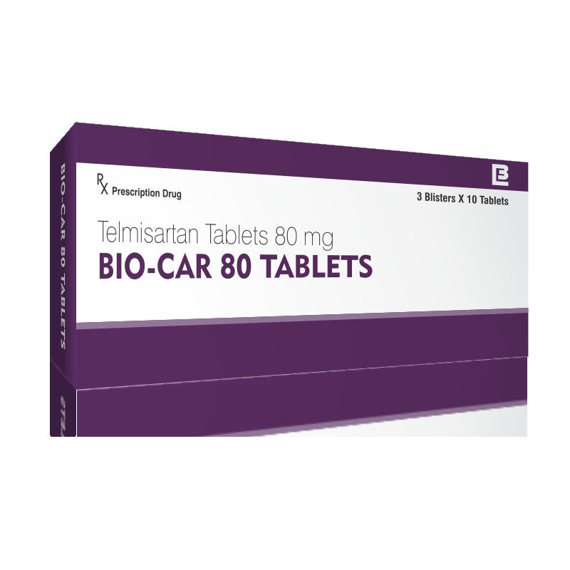 Bio-Car 80 Tabs